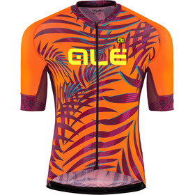 Alé Cycling Graphics PRR Sunset Jersey korte mouwen Heren, flou orange-plum